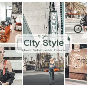 City Style 1.1 300x300 - Dreamy Lightroom Desktop and Mobile Presets