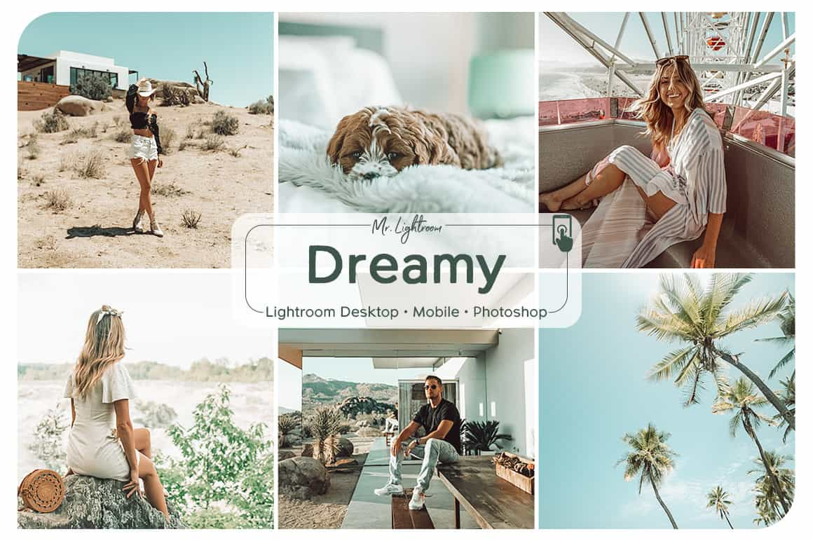 Dreamy Lightroom Desktop and Mobile Presets