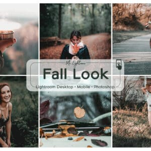 Fall Look 1.1 300x300 - Fall Look Lightroom Desktop and Mobile Presets