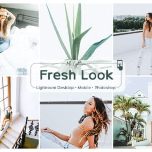 Fresh Look 1.1 300x300 - Grace Lightroom Mobile and Desktop Presets