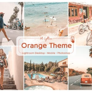 Orange 1.1 300x300 - Orange Theme Lightroom Desktop and Mobile Presets