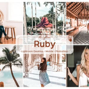 Ruby Lightroom Desktop and Mobile Presets
