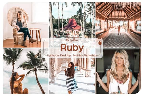 Ruby 1.1 600x399 - Ruby Lightroom Desktop and Mobile Presets