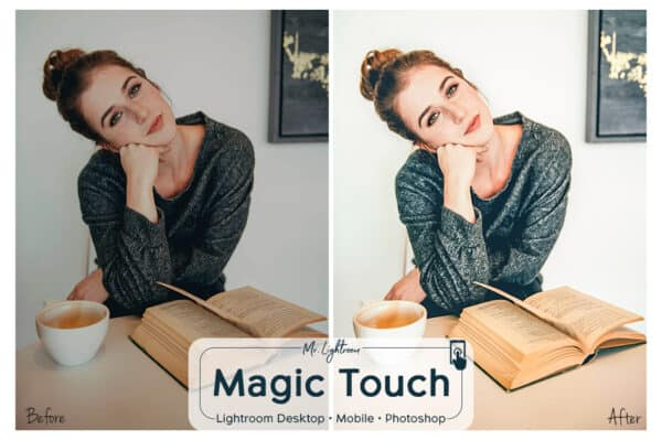 Magic Touch 1 600x399 - Magic Touch Lightroom Desktop and Mobile Presets