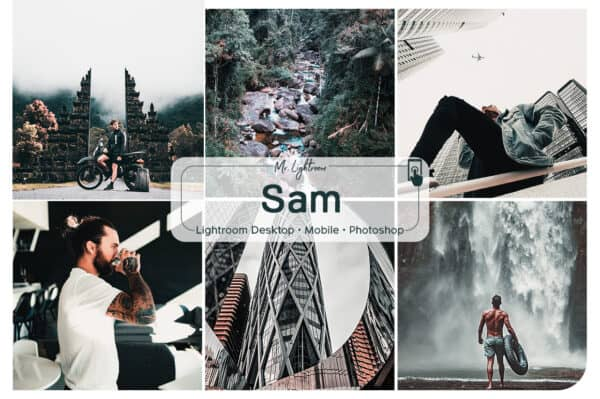 Sam Lightroom Desktop and Mobile Presets
