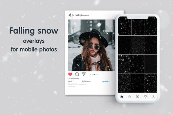 Snow 01 600x400 - Snow Mobile Overlays
