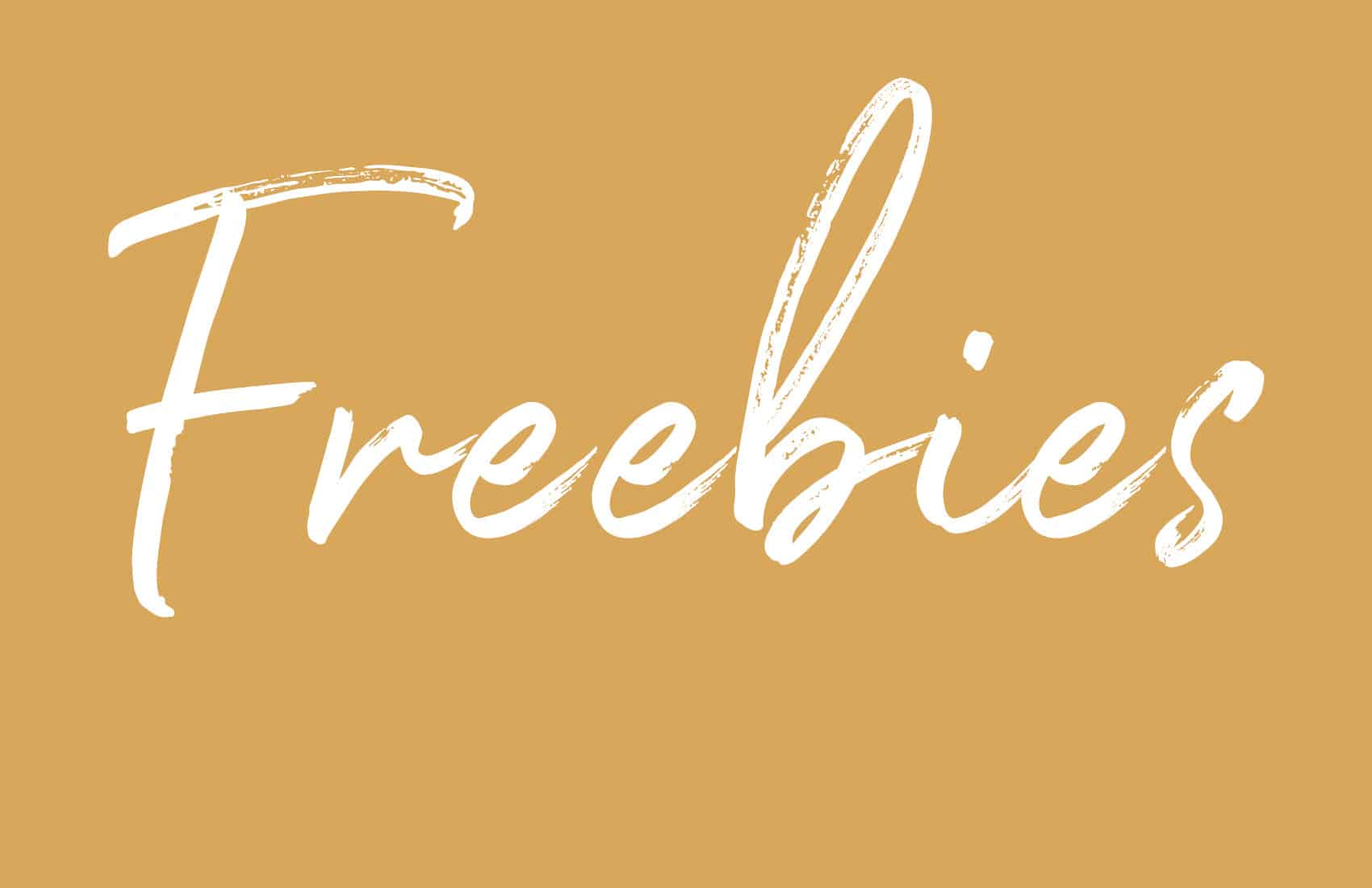 Freebies -