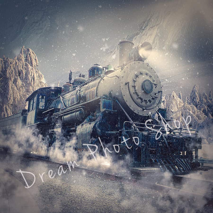 prv2 2 - Polar Express Digital Background
