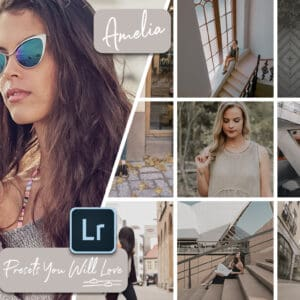 Amelia Lightroom Mobile and Desktop Presets