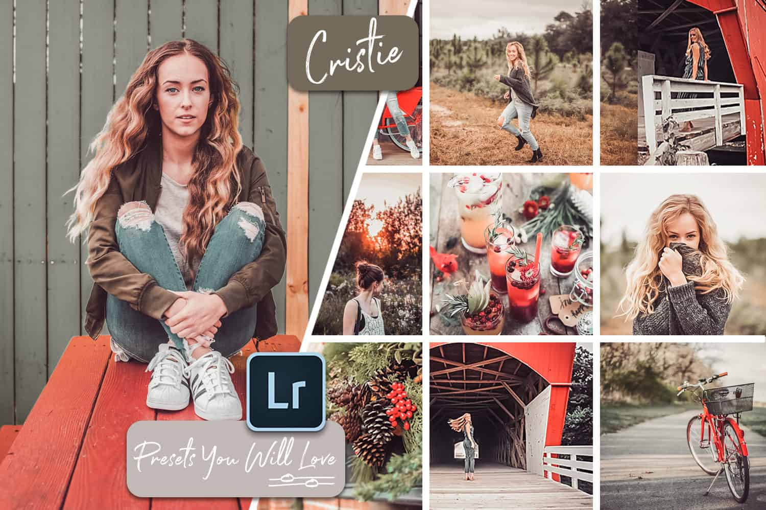 Cristie Lightroom Mobile and Desktop Presets