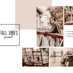 Fall Vibes Lightroom Mobile and Desktop Presets