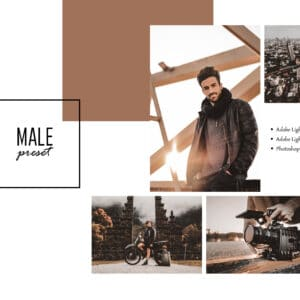 Male Lightroom Desktop and Mobile Presets