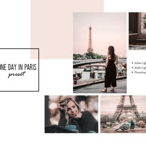 One Day in Paris Lightroom Mobile and Desktop Presets