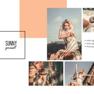 Sunny Lightroom Desktop and Mobile Presets