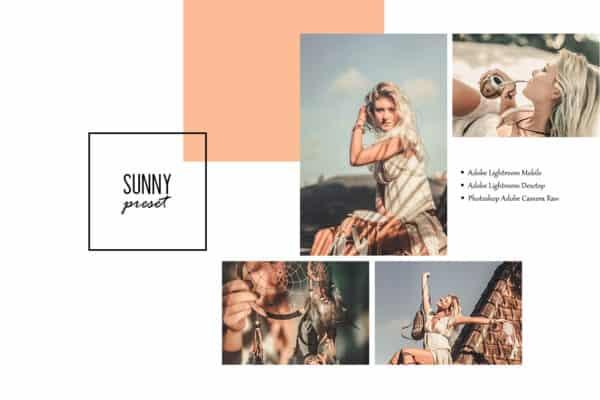 Sunny Lightroom Desktop and Mobile Presets