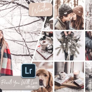 Winter 1.1 300x300 - Winter Lightroom Mobile and Desktop Presets