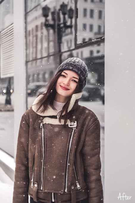 Winter 2.2 - Winter Lightroom Mobile and Desktop Presets