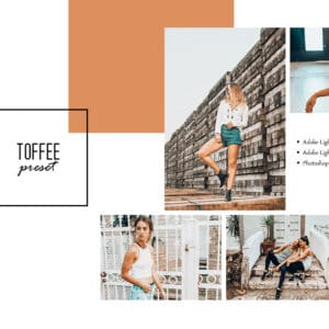 Toffee Lightroom Desktop and Mobile Presets
