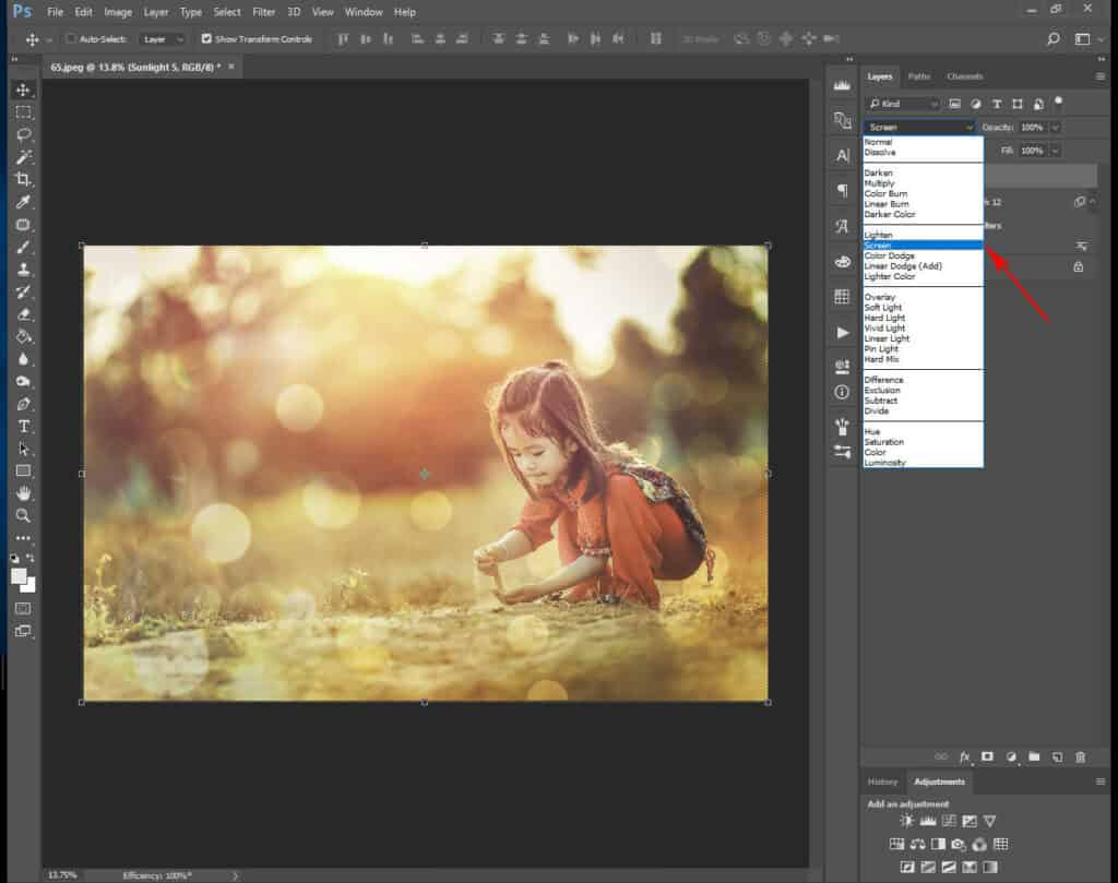 tutorial toning 10 1024x809 - Toning Color And Light Photo Overlays