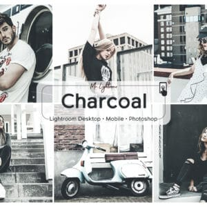 Charcoal Lightroom Desktop and Mobile Presets