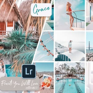 Peach City Lightroom Mobile Desktop Presets
