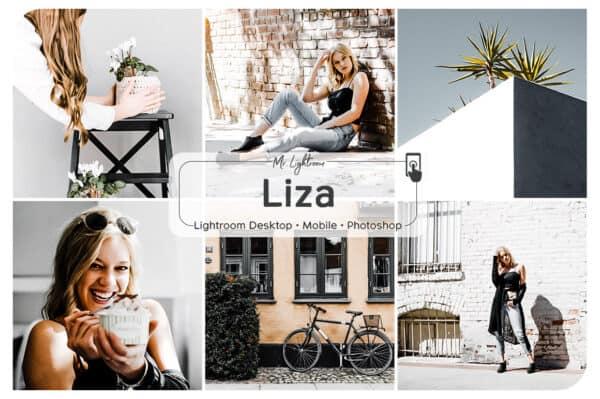 Liza Lightroom Desktop and Mobile Presets