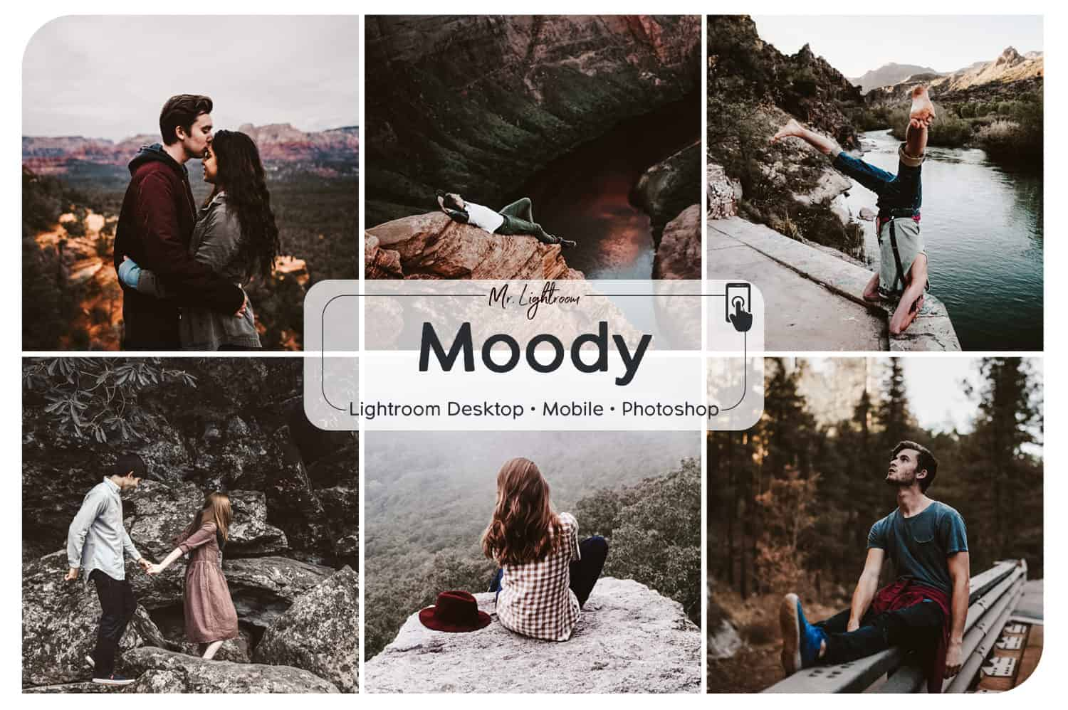 Moody Lightroom Mobile and Desktop Presets