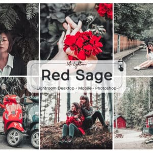 Red Sage 1 300x300 - Red Sage Lightroom Desktop and Mobile Preset