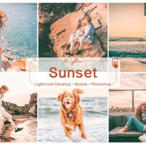 Sunset Lightroom Desktop and Mobile Presets