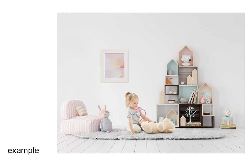 0006 prv 03 1024x683 - Interior Mockup Kids Room 06