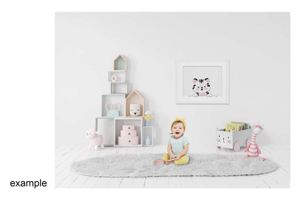 0007 prv 03 1024x683 - Interior Mockup Kids Room 0007