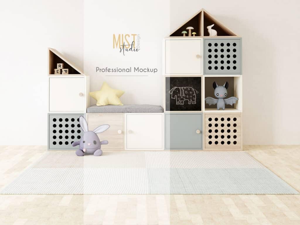 0008 prv 0 1024x768 - Interior Mockup Kids Room 0008