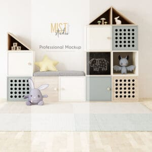 Interior Mockup Kids Room 0008