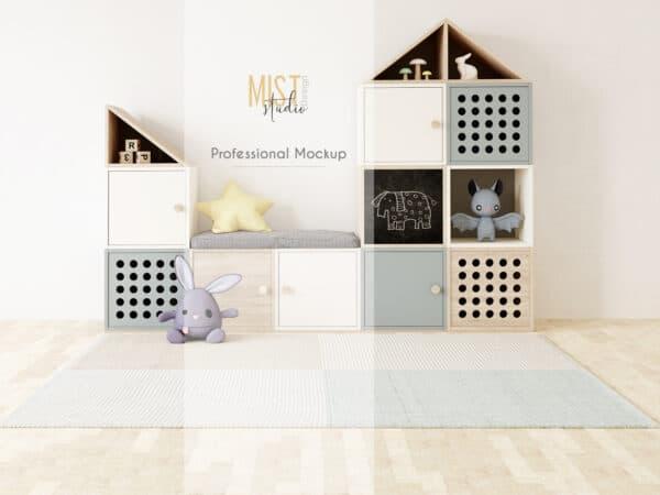 0008 prv 0 600x450 - Interior Mockup Kids Room 0008