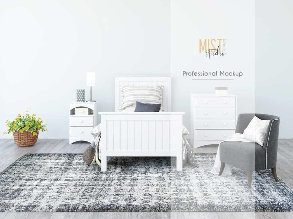 bedroom prv0 1024x768 - Interior Mockup Bedroom 0010
