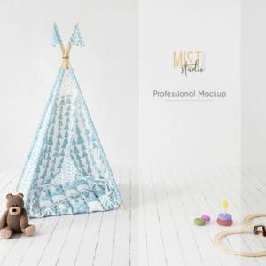 Interior Mockup Kids Room 04