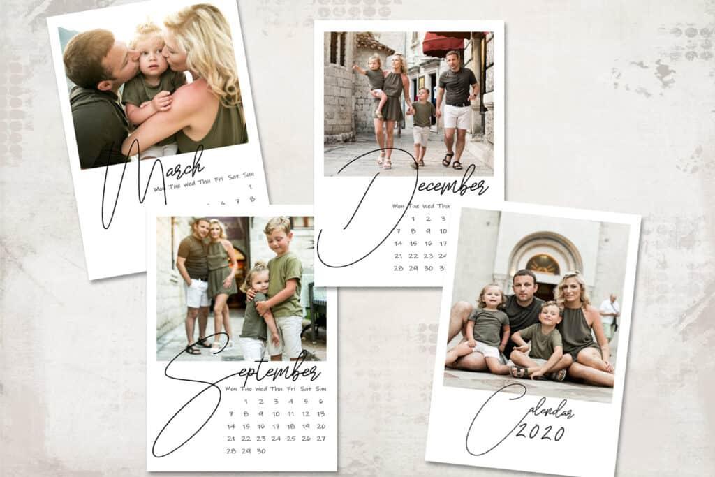 2020 prv2 1 1024x683 - 2020 Calendar Template - Monday start - 5x7