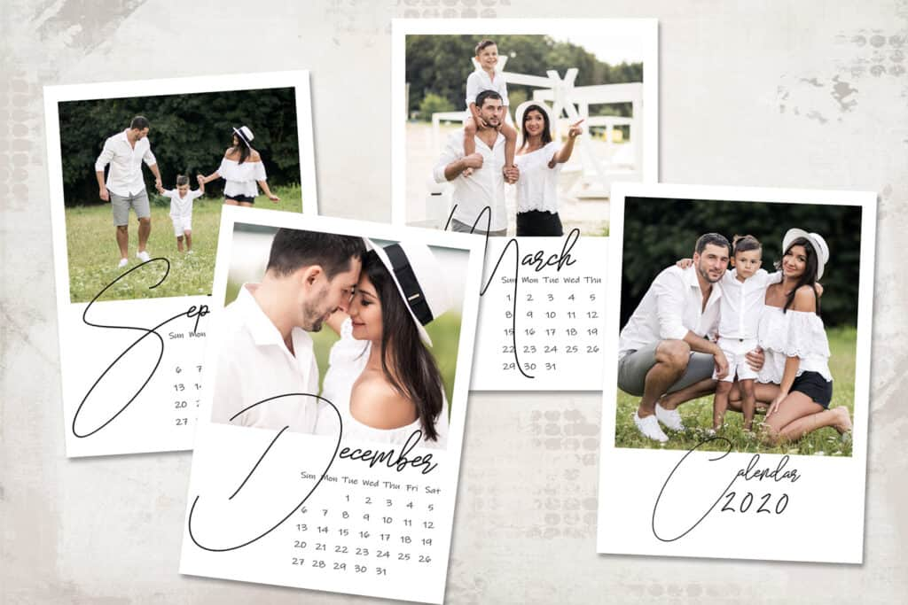 2020 prv2 1024x683 - 2020 Calendar Template - Sunday start - 5x7