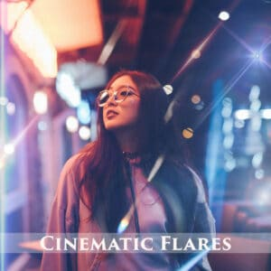 100  Cinematic Flares Overlays