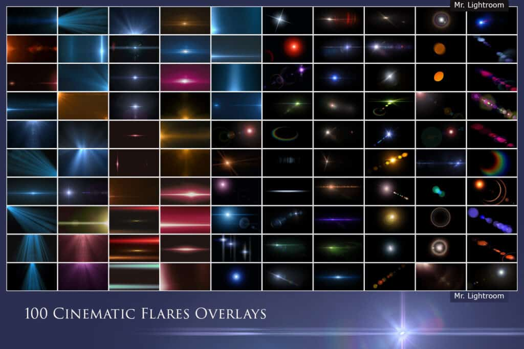 Cinematic Flares 2.1 1024x683 - 100 Cinematic Flares Overlays