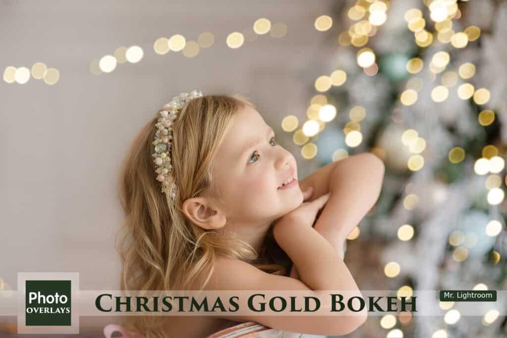 Christmas Bokeh 01 1024x683 - 60 Christmas Gold Bokeh Overlays