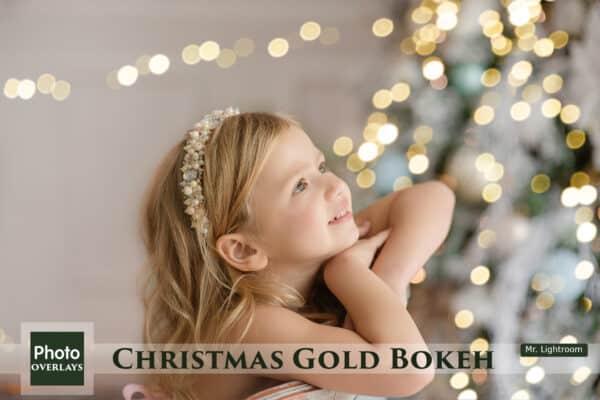Christmas Bokeh 01 600x400 - 60 Christmas Gold Bokeh Overlays