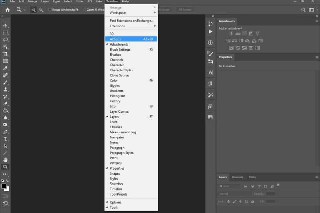 pic 3 1024x683 - How to install actions in Photoshop