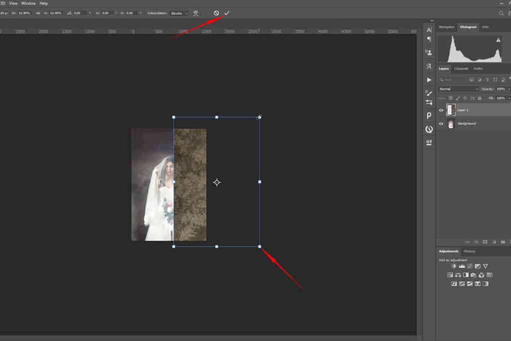 001 1024x683 - How to Add an Art Texture to a Portrait in Photoshop