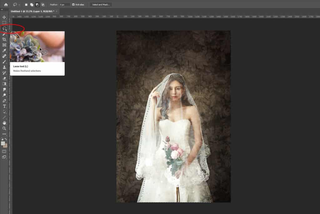 003 1024x683 - How to Add an Art Texture to a Portrait in Photoshop