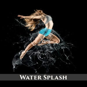 130 Water Splash Photo Overlays