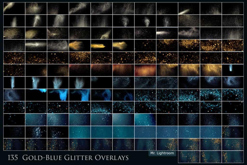 Glitter 02 1024x683 - 135 Blowing Glitter Overlays