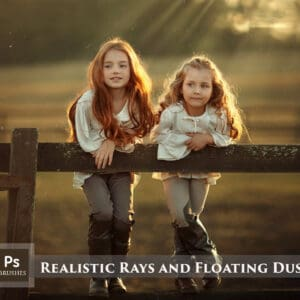 Realistic Rays and Floating Dust Brushes and Overlays