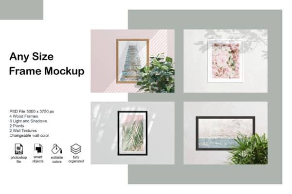 Any Size Frame Mockup