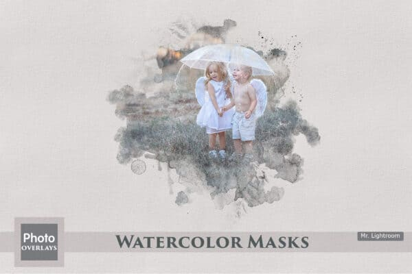 25 Watercolor Masks
